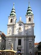 Mariahilfer Kirche Vienna Sept 2006 001
