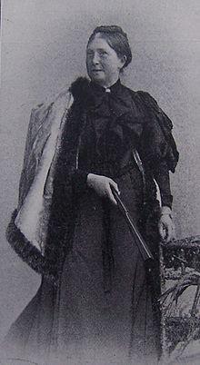 Marie Lipsius (Quelle: Wikimedia)