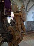 Marienstiftskirche Lich Kanzel Thomas von Aquin 04.JPG
