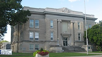 Marion County, Illinois - Image: Marion County Courthouse in Salem