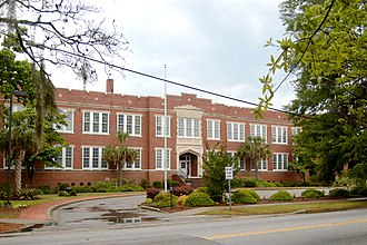 Marion High School (South Carolina) - Image: Marion High School, SC