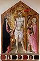 Mariotto di cristofano, cristo eucaristico tra la madonna e santa lucia, 1420-25 ca. 00,0.jpg