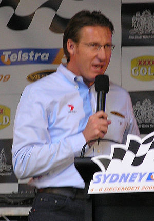 Mark Skaife, five-time series champion and leader of the New Generation V8 Supercar project Mark Skaife 2009 Sydney 500 Launch.jpg