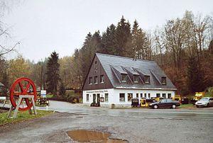 """Besucherbergwerk """"Markus-Röhling-Stolln"""""""