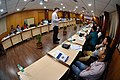 Martin Bellamy Interacts with Participants and Dignitaries - valedictory Session - Collections and Storage Management Workshop - NCSM - Kolkata 2016-02-20 9946.JPG