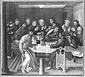 Martin Schaffner - Erster Wettenhauser Altar, Das Letzte Abendmahl Rückseite, Kreuztragung Christi - 4549 - Bavarian State Painting Collections.jpg