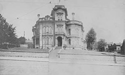 Martin Van Buren Stacy house on the east side of 3rd Ave. between Madison St. and Marion St., ca. 1901-1903 (SEATTLE 3936).jpg