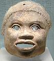 Masca teracota Museul Arheologic Milan colectia muzeului teatral scala.jpg