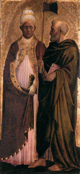 File:Masolino - Pope Gregory the Great (?) and St Matthias - WGA14250.jpg