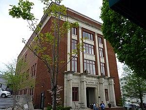 Gateway Club (Waynesville, North Carolina) - Masonic Hall, April 2011