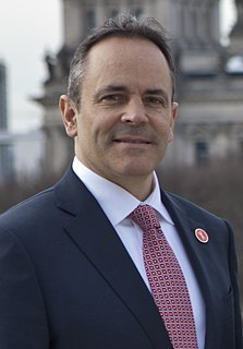 Matt Bevin American businessman and politician