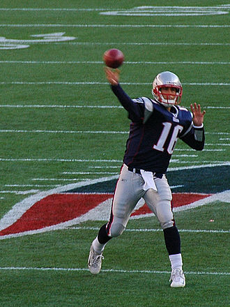 Matt Cassel - Cassel with the New England Patriots in 2008