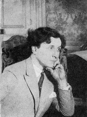Maurice Rostand - Maurice Rostand around 1929