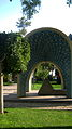 Mausoleum of Kamal al-Molk - Morning - south view - Nishapur 04.JPG
