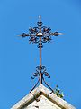 Mauzac (24) église clocher croix.jpg