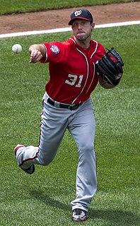 Max Scherzer American baseball player