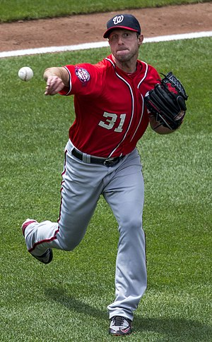 Max Scherzer - Scherzer with the Washington Nationals in 2015