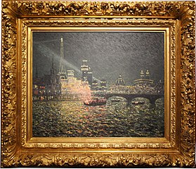 Féérie nocturne : exposition universelle de 1900, Paris