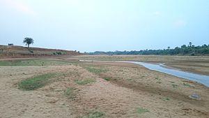 Mayurakshi River - Mayurakshi River near Dumka