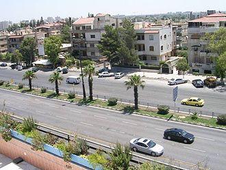 Mezzeh - Fayez Mansour Street (Mezzeh Highway)