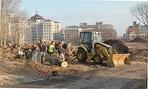 McGowan's Pass - Temporary dump for Hurricane Sandy debris, 2012