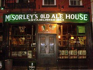 English: McSorley's Old Ale House