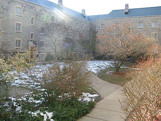 University of Western Ontario - Sydenham Quad within Medway-Sydenham Hall, one of nine student residences located at the university's campus
