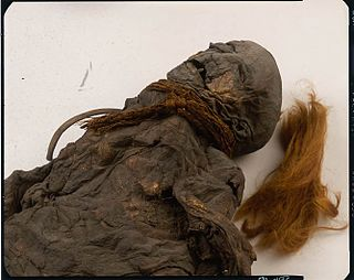 Yde Girl Iron Age bog body found in the Netherlands