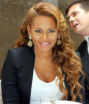 Mel B - Mel B at The New Face of Jenny Craig, in 2011.