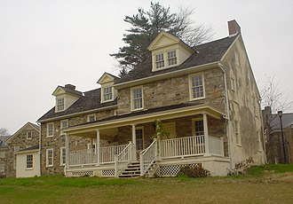 Cheyney University of Pennsylvania - Melrose Cottage, built in 1805.