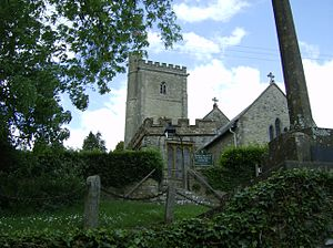 Membury, Devon - Image: Membury Church