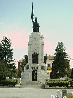 """Мемориалът """"Майка България"""", посветен на загиналите през балканските войни и Първата световна война"""
