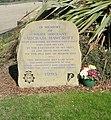 Memorial to Police Sgt Michael Hawcroft - Norfolk Gardens - geograph.org.uk - 1800832.jpg