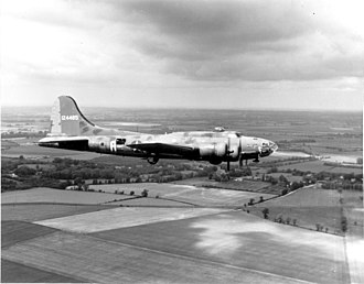Memphis Belle (aircraft) - Boeing B-17F-10-BO Flying Fortress, AAF Ser. No. 41-24485, Memphis Belle, 324th Bomb Squadron, 91st Bomb Group, 9 June 1943
