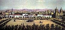 Mendoza Province-19th century-Mendoza city