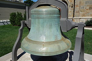 Meneely Bell Foundry - Memorial in Watertown, Massachusetts, USA.