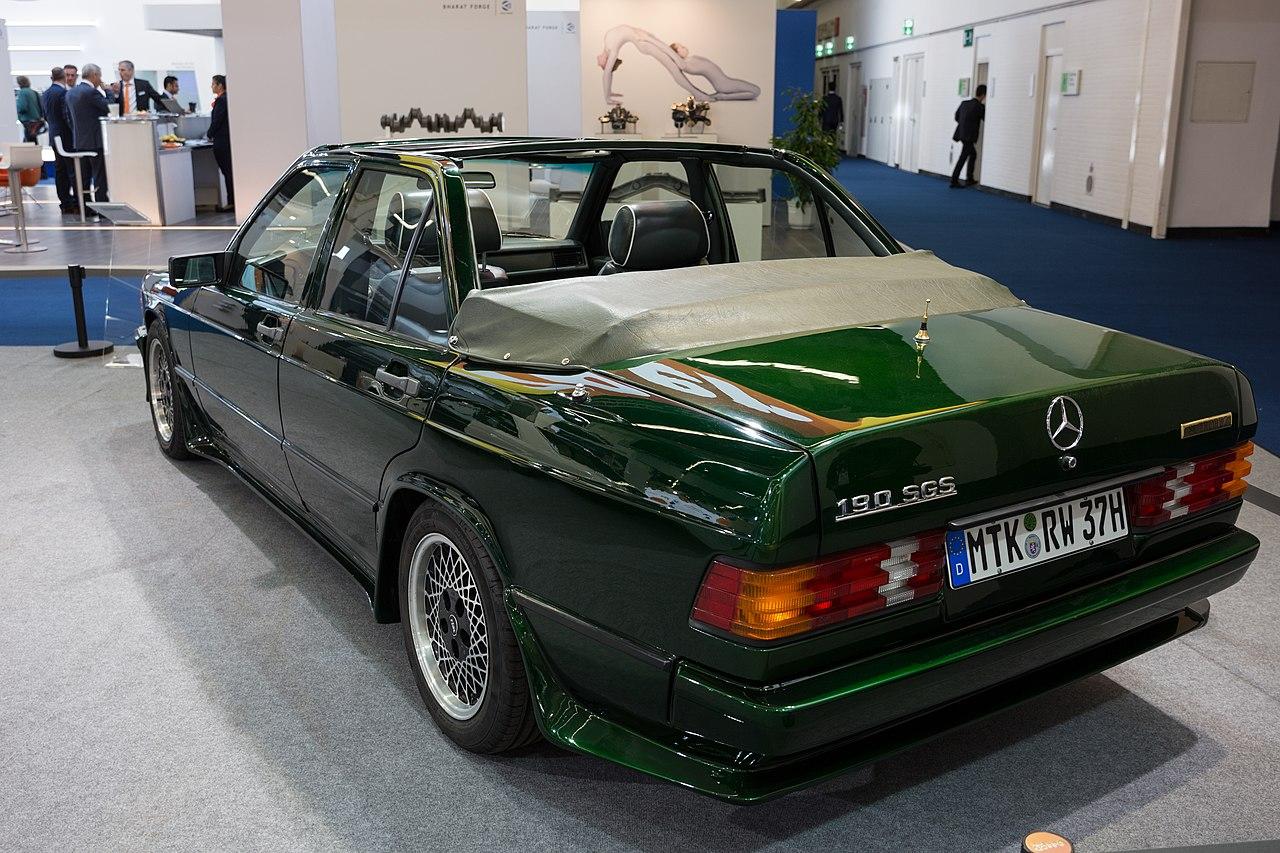 File mercedes benz 190 sgs iaa 2017 frankfurt 1y7a3159 for Garage mercedes 94