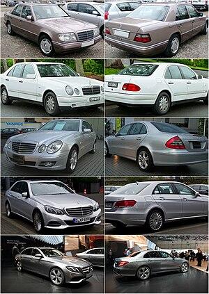 Mercedes Benz E класс Википедия