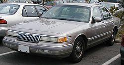 1992-1994 Mercury Grand Marquis