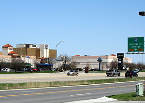 Merrillville, Indiana - Merrillville as seen from junction of US 30 and I-65