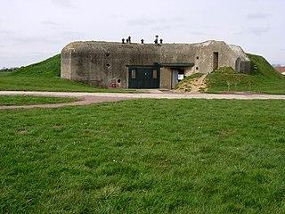 Merville Gun Battery bunker