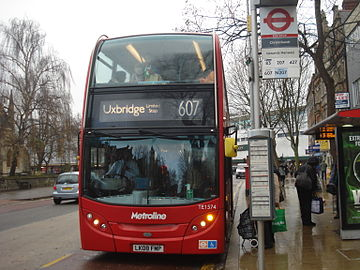 Metroline bus route 607.jpg