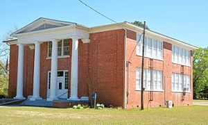 National Register of Historic Places listings in Candler County, Georgia - Image: Metter High School, Metter, GA, US (2)