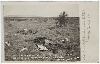 First Battle of Agua Prieta - The dead after the first battle of Agua Prieta