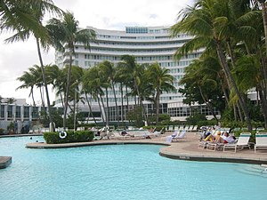 Le Fontainebleau Hotel Miami Beach Au 4441 Collins Avenue