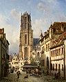 Michael Neher - Der Dom in Frankfurt am Main (1860).jpg