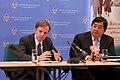 Michael Posner and Harold Hongju Koh September 28 Press Conference in Geneva.jpg