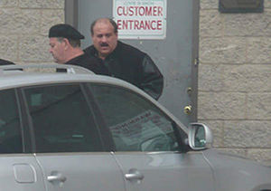 Michael Sarno - Michael Sarno (left) and Salvatore Cataudella in an FBI surveillance photo.