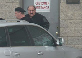 Michael Sarno - Michael Sarno (left) and Salvatore Cataudella in an FBI surveillance photo.