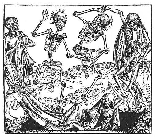 Michael Wolgemut - Dance of Death - WGA25860